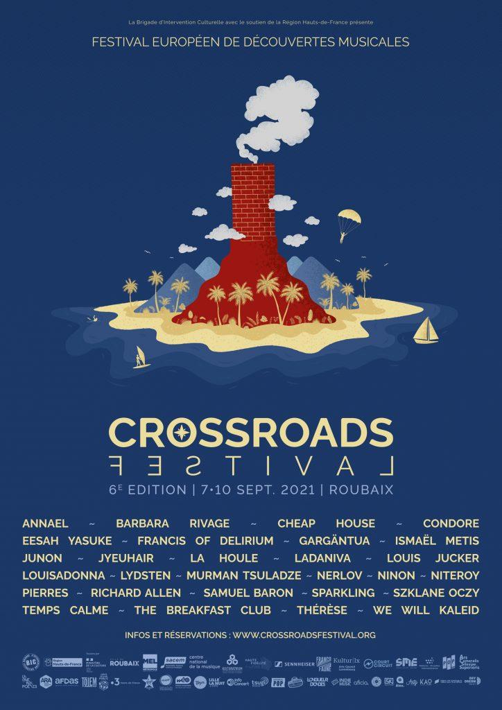 Affiche Crossroads Festival 2021